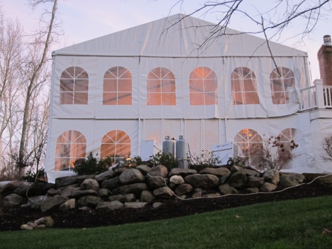 Customized Two-Story Tent & Gallery - Tents u2013 Camargo Events
